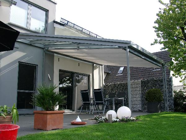 Referenz   Zabel GmbH   Terrassendach   Verl