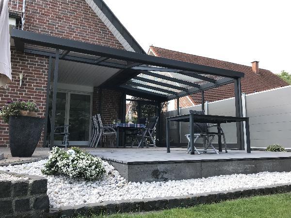 Referenz   Zabel GmbH   Terrassendach