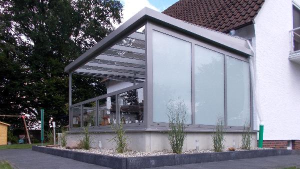 Referenz   Zabel GmbH   Terrassendach   Avenwedde